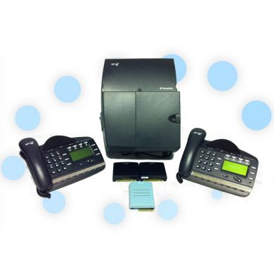 BT Versatility Phone System with 4 x Analogue and 2 x V8 Handsets