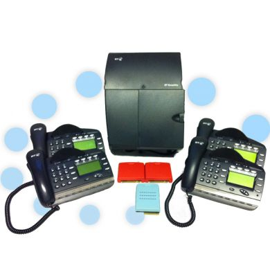 BT Versatility Telephone System with 3 x ISDN 2e and 4 x V8 Handsets