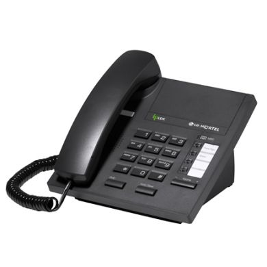 LG LDP-7004 Telephone Handset in Black without Display