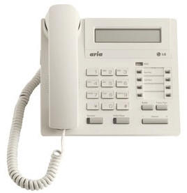 LG LDP-7008D Telephone Handset in White with LCD Display