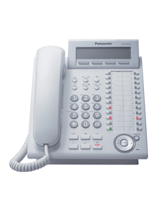 Panasonic KX-NT343 IP Proprietary Telephone in White