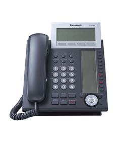 Panasonic KX-NT366 IP Proprietary Telephone in Black