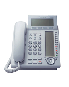 Panasonic KX-NT366 IP Proprietary Telephone in White