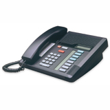 Meridian Norstar M7208 Telephone Handset in Charcoal Black