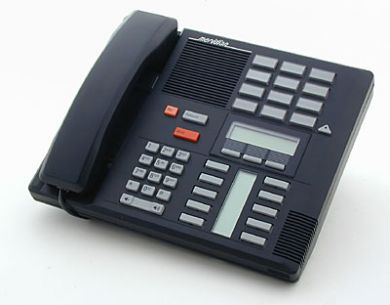 3 x Meridian Norstar M7310 Telephones in Charcoal