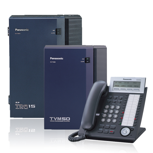 Panasonic KX-TDA15 Digital Telephone System + 4 Channel ISDN 2e Card