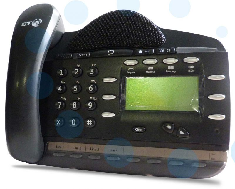 8 x BT Versatility V8 Feature Telephone 8 Key Refurbished