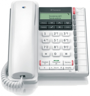BT Converse 2300 Corded Telephone in White