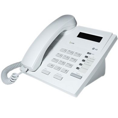 LG LDP-7004D Telephone Handset in White with LCD Display
